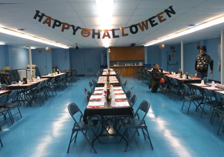 Halloween Event at the Mars Reception Hall